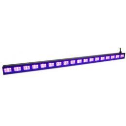 Lumières noires - Power Lighting - UV BARLED 18X3 MK2
