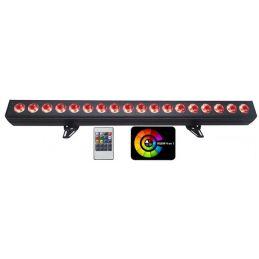 Barre led RGB - Power Lighting - BARRE LED 18x15W QUAD