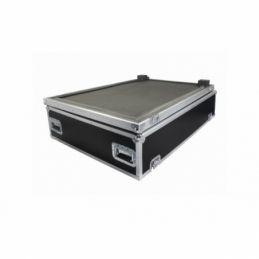 Flight cases bois consoles de mixage - Power Acoustics - Flight cases - FCM MIXER L