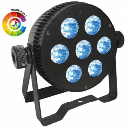 Projecteurs PAR LED - Power Lighting - PAR SLIM 7x10W QUAD