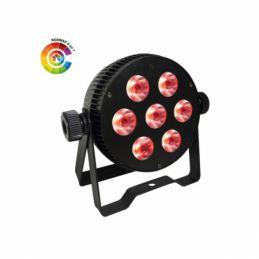 Projecteurs PAR LED - Power Lighting - PAR SLIM 7x10W HEXA