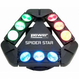 Jeux de lumière LED - Power Lighting - SPIDER STAR