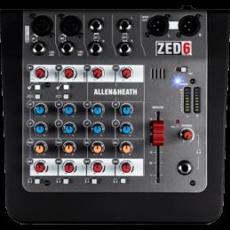 Consoles analogiques - Allen & Heath - ZED-6