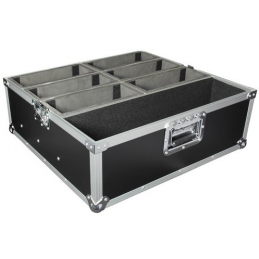 Flight cases éclairage - Power Acoustics - Flight cases - FT PAR SLIM 6