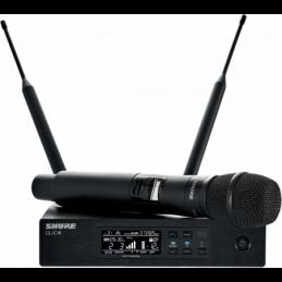 Micros chant sans fil - Shure - QLXD24E-KSM8B