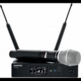 Micros chant sans fil - Shure - QLXD24E-86 SM86