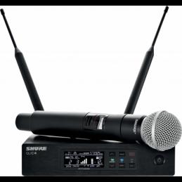 Micros chant sans fil - Shure - QLXD24-58 SM58