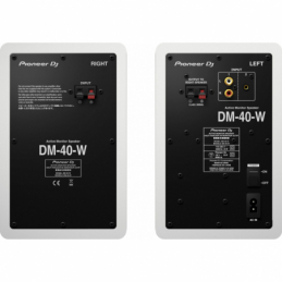 Enceintes monitoring de studio - Pioneer DJ - DM 40 W