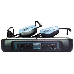 Micros serre-tête sans fil - Power Acoustics - Sonorisation - WM 7200 FITNESS