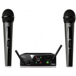 Micros chant sans fil - AKG - WMS40 Mini Dual Vocal Set