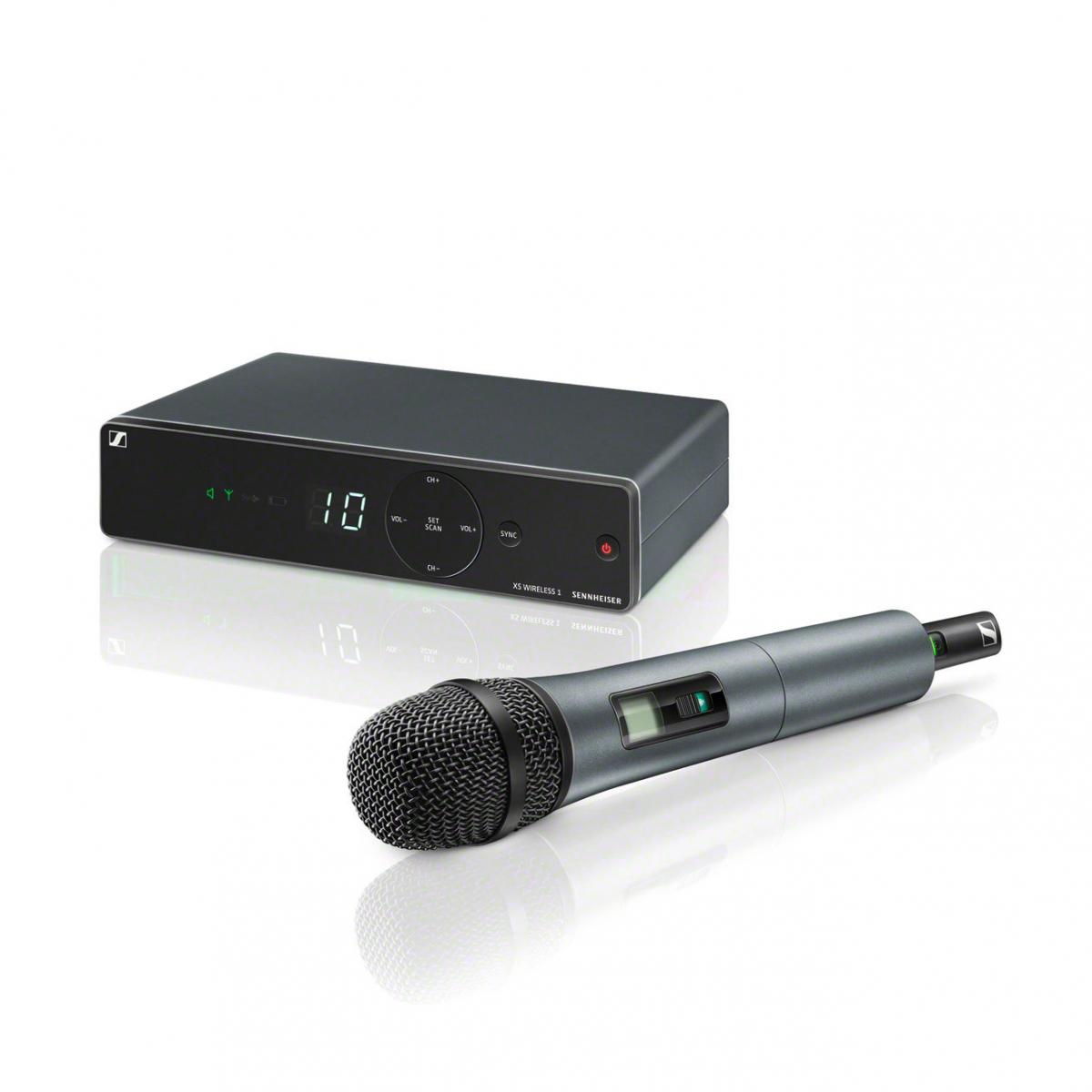 Micros chant sans fil - Sennheiser - XSW 1-825