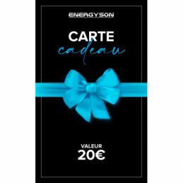 Accueil - Energyson - Carte Cadeau 20€