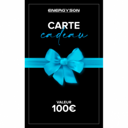 Accueil - Energyson - Carte Cadeau 100€