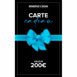 Accueil - Energyson - Carte Cadeau 200€
