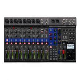 Enregistreurs multipistes - Zoom - LiveTrak L-12