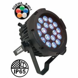 Projecteurs PAR LED extérieur - Power Lighting - PAR SLIM 18x10W IP65 PENTA25
