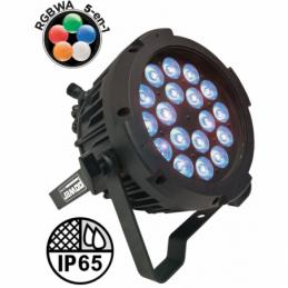 Projecteurs PAR LED extérieur - Power Lighting - PAR SLIM 18x10W IP65 PENTA40