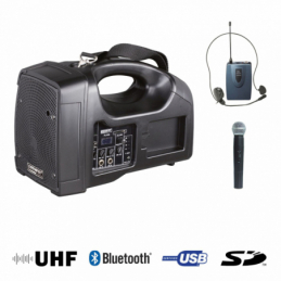Sonos portables sur batteries - Power Acoustics - Sonorisation - BE1400 PT UHF