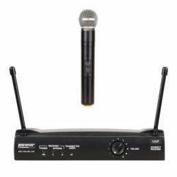 Micros chant sans fil - Power Acoustics - Sonorisation - WM 3400 MH UHF 824