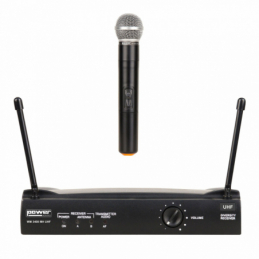 Micros chant sans fil - Power Acoustics - Sonorisation - WM 3400 MH UHF 825