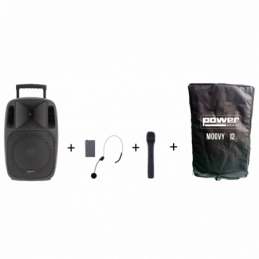 Sonos portables sur batteries - Power Acoustics - Sonorisation - MOOVY 12 MK2 + Housse de...