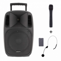 Sonos portables sur batteries - Power Acoustics - Sonorisation - MOOVY 15 MK2