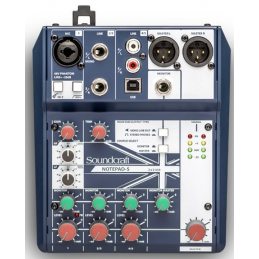 Consoles analogiques - Soundcraft - NotePad-5