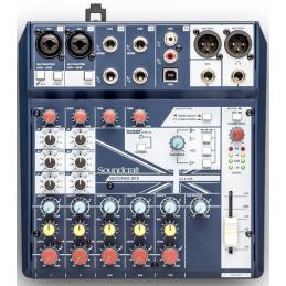 Consoles analogiques - Soundcraft - NotePad-8FX