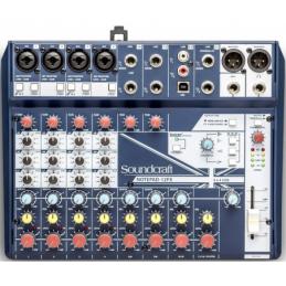 Consoles analogiques - Soundcraft - NotePad-12FX