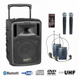 Sonos portables sur batteries - Power Acoustics - Sonorisation - BE9610 UHF PT ABS