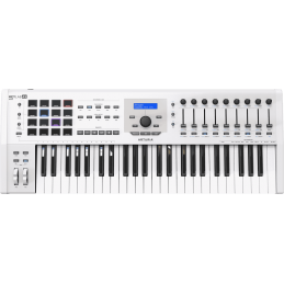 Claviers maitres 49 touches - Arturia - KEYLAB MK2 49 White