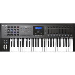 Claviers maitres 49 touches - Arturia - KEYLAB MK2 49 Black