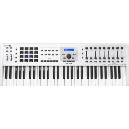 Claviers maitres 61 touches - Arturia - KEYLAB MK2 61 White
