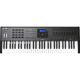 Claviers maitres 61 touches - Arturia - KEYLAB MK2 61 Black