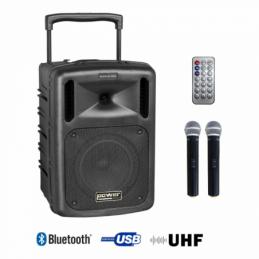 Sonos portables sur batteries - Power Acoustics - Sonorisation - BE 9610 UHF MEDIA