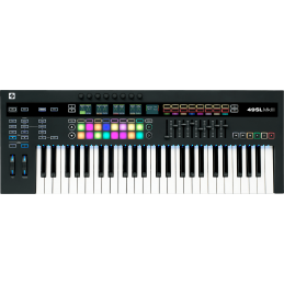 Claviers maitres 49 touches - Novation - 49 SL MKIII