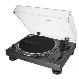 Platines vinyles entrainement direct - Audio-Technica - AT-LP140XP BK noir