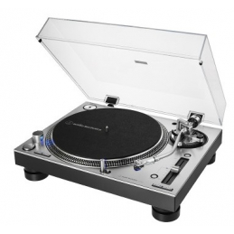 Platines vinyles entrainement direct - Audio-Technica - AT-LP140XP SV silver