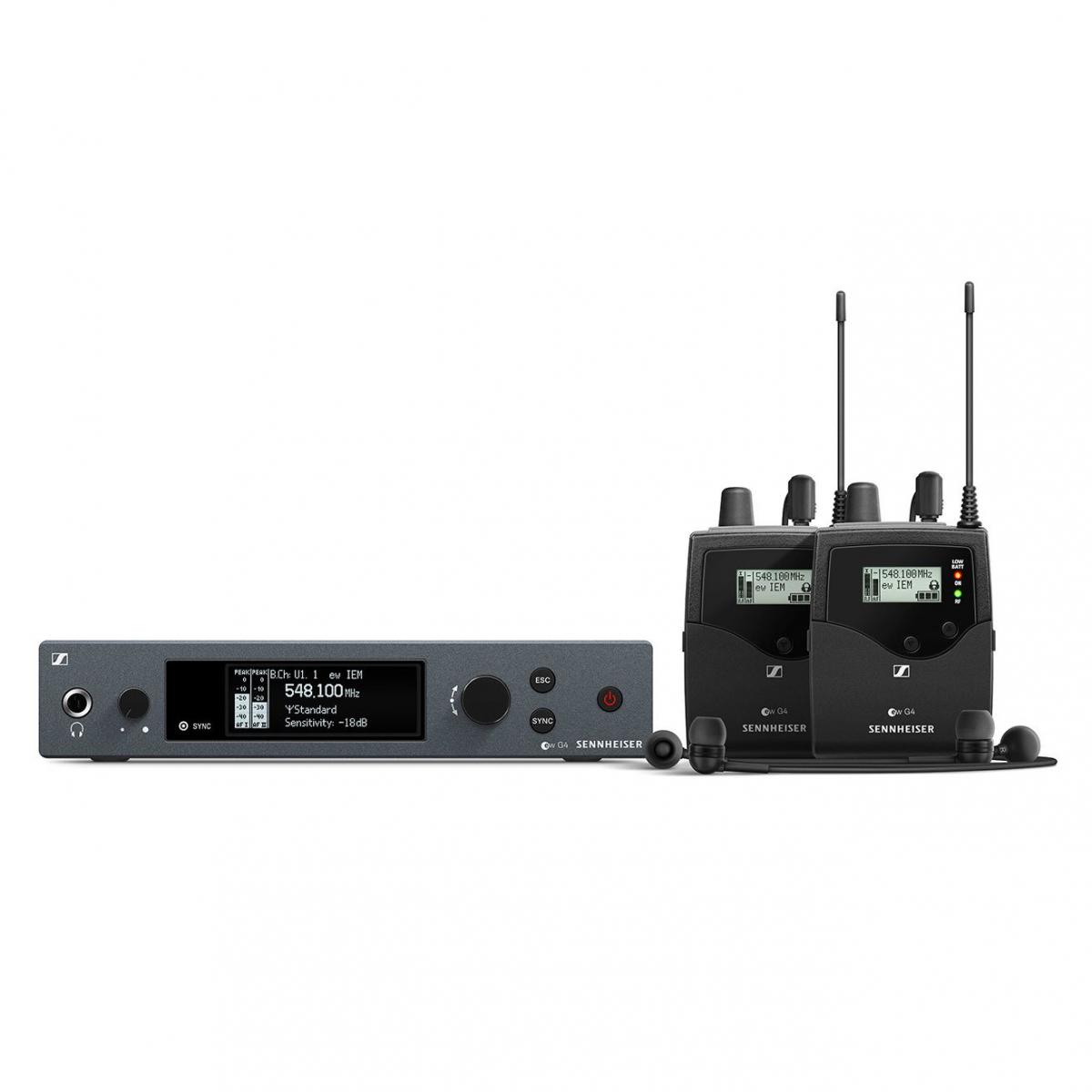 Ear monitors - Sennheiser - EW IEM G4 TWIN