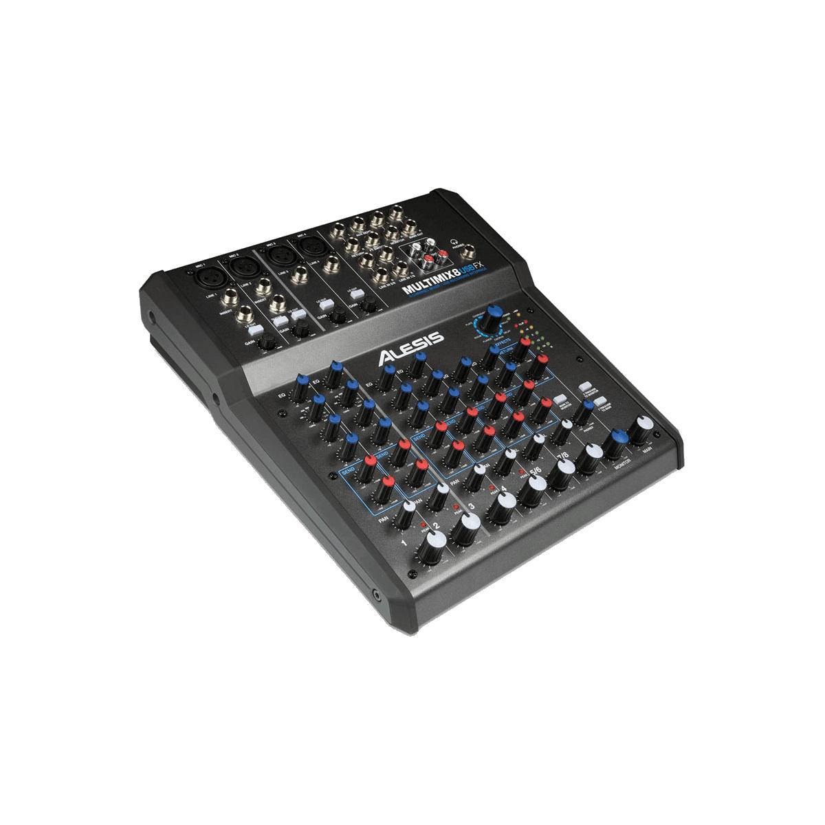 Consoles analogiques - Alesis - Multimix 8 USB FX