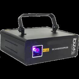 Lasers multicolore - Ibiza Light - SCAN2000RGB