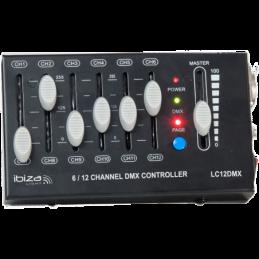 Contrôleurs DMX - Ibiza Light - LC12DMX