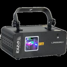 Lasers multicolore - Ibiza Light - LZR250RGY