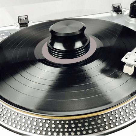 Accessoires platines vinyles - Enova Hifi - STABILISATEUR VINYLE - VRS 100