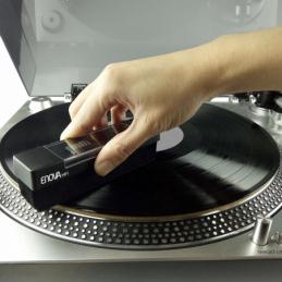 Accessoires platines vinyles - Enova Hifi - BROSSE VELOURS VINYLE - BVA 10