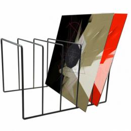 Meubles et pochettes de disques - Enova Hifi - RANGE VINYLE ACIER - SRV 50