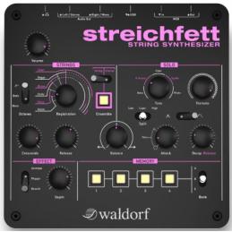 Synthé analogiques - Waldorf - STREICHFETT