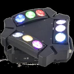 Jeux de lumière LED - Ibiza Light - 9BEAM-MINI
