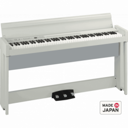 Pianos numériques meubles - Korg - C1 AIR (Blanc)