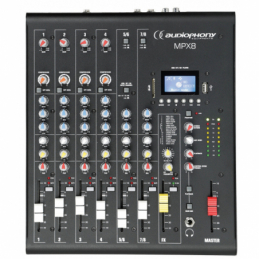 Consoles analogiques - Audiophony - MPX8